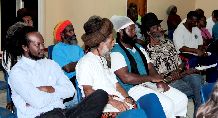 A section of the audience at the consultation. (IWN photo)