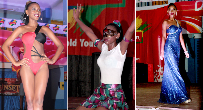 Bowens won the Swimwear, Talent and Interview segments of the show. (IWN photos)