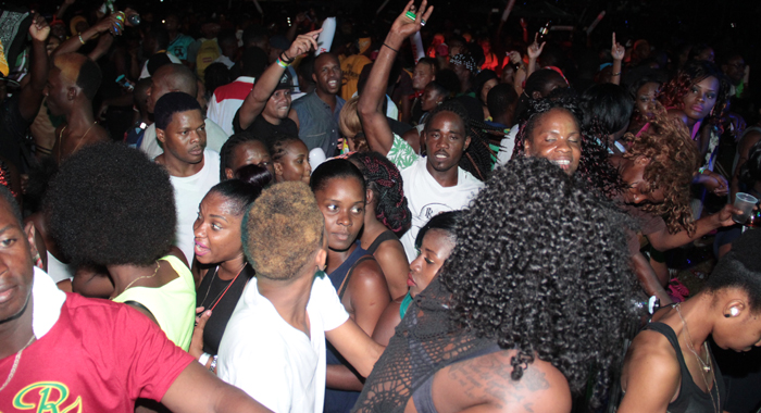 "Patrons react during Chewalee's performance of ""Rumist"". (IWN photo)"