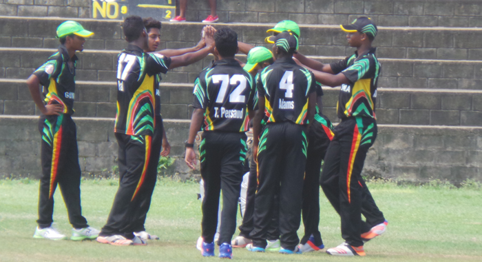 Guyana top the points standing.