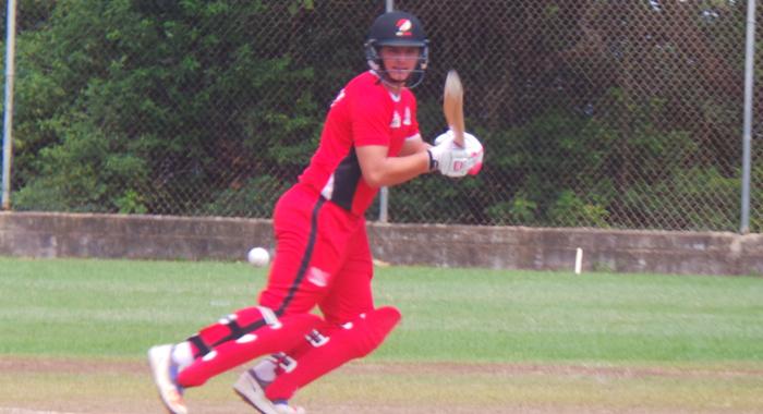 Joshua DaSilva made 73* for Trinidad.