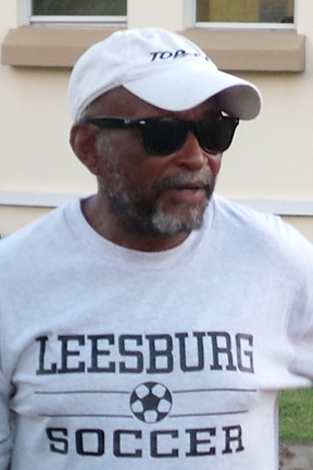 "Coach Michael ""Mercy"" Ollivierre."