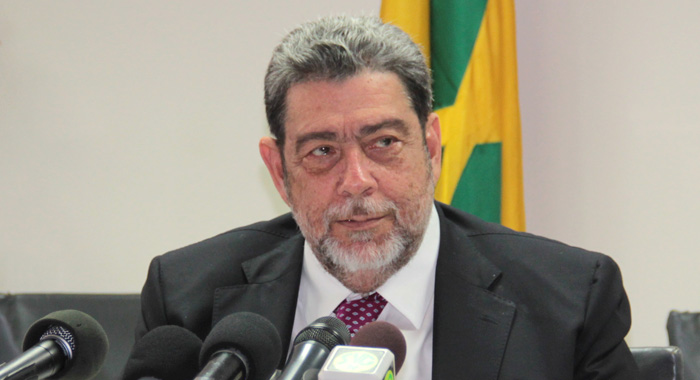 Prime Minister Ralph Gonsalves On Tuesday Expressed Regret That The International Airport Is Still Incomplete. (Iwn Photo)