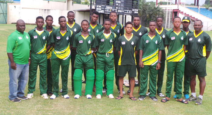 The Windward Islands team.