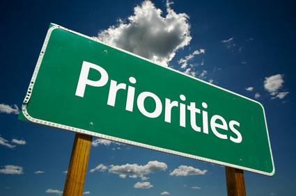 Priorities Banner
