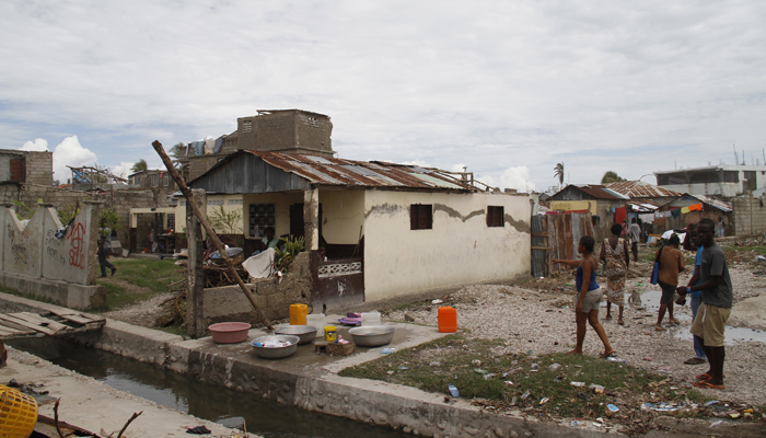 Thousands of Haitians are in need of on-going assistance after the devastation wrought by Hurricane Matthew. (CMC photo)