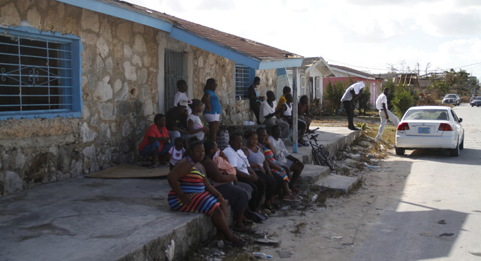 At least 131 persons were displaced by the hurricance. (Photo: CMC/IWN)