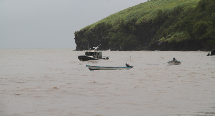 A Coast Guard vessel assisted in the search. (IWN photo)