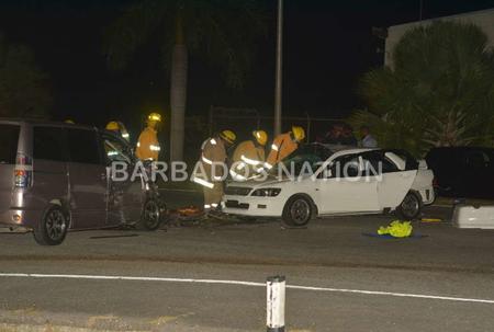 Barbados Car Crash