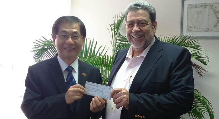 Tawian Donation