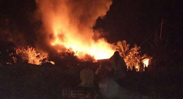 Fire In Georgetown