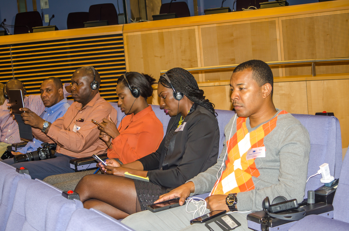 Caribbean Journalists @ Press Briefing5A