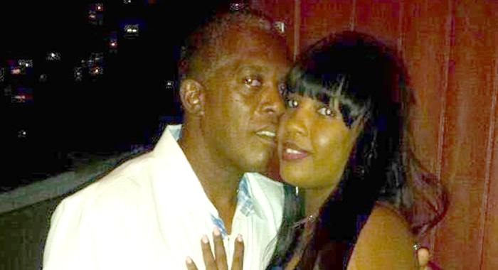 Lennox Franklyn Da Silva And Wife