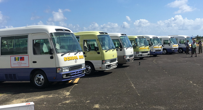 Taiwan donates buses, agricultural equipment to St  Vincent