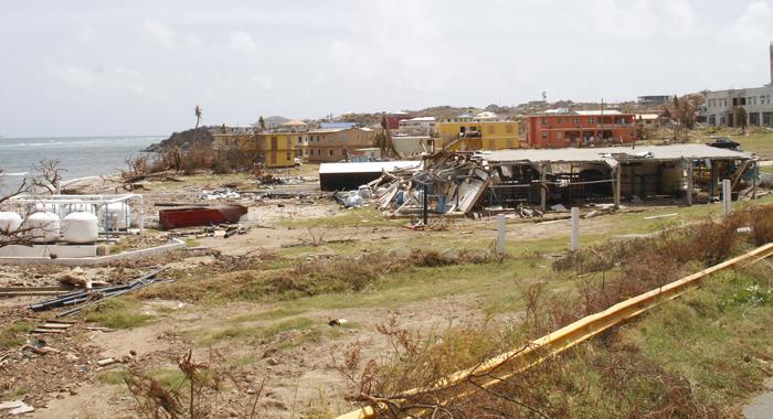 Both Of Virgin Gordas Water Desalination Plants Were Destroyed. Cmc Photo
