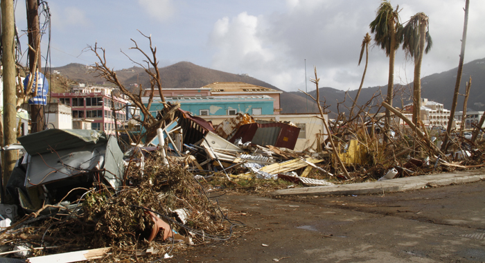 The Destruction Is Very Widespread. Cmc Photo