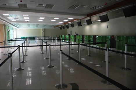 Deserted Aia Check In