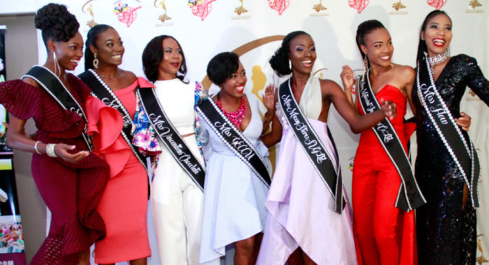 Miss Svg 2018 Contestants