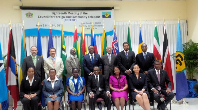 Caricom Foreirng Ministers