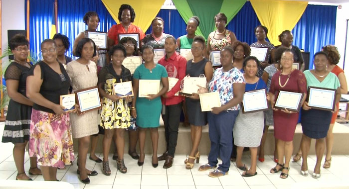 Awardees Of The Child Month 2018 Prize Giving Ceremony