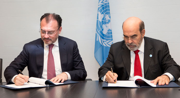 Fao Signing Ceremony