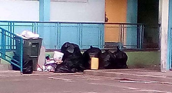 Garbage At Greiggs School