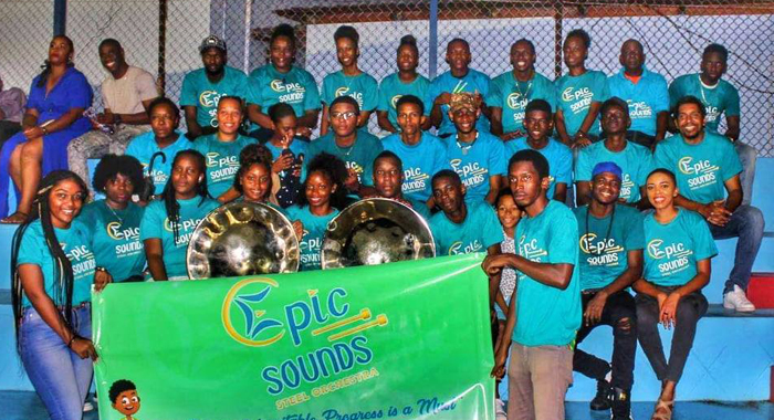 Epic Sounds Steel Orchestra 1