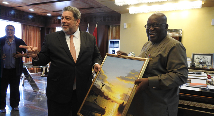 Gonsalves And Akufo Addo