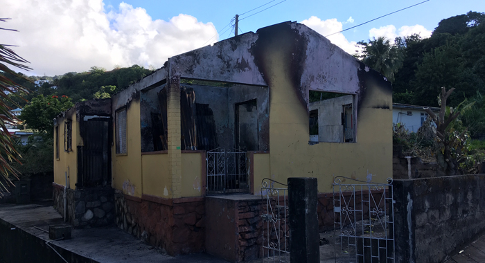 Pauls Lot Fire