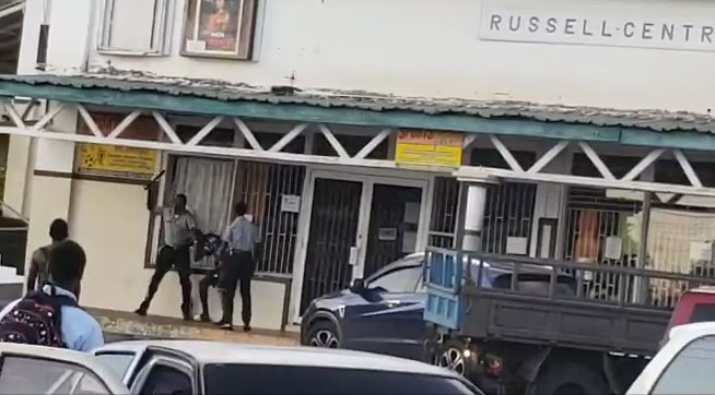Police Beating