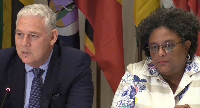 Pms Mottley And Chastanet