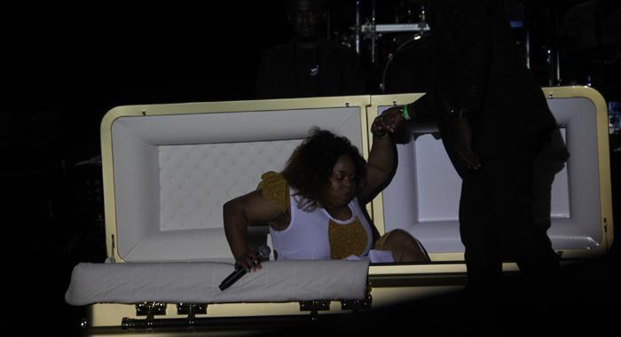 Shaunelle In Coffin