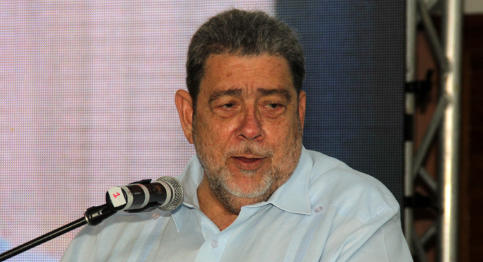 Gonsalves At Tourism Conference