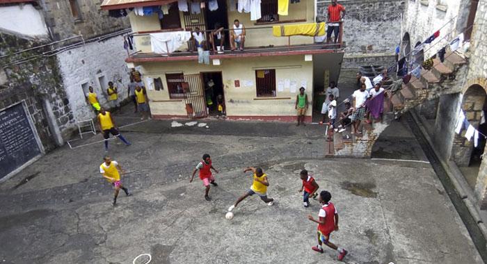 Prison Soccer 4