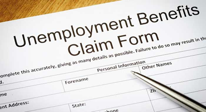 Unemployment Benefit Claim Form