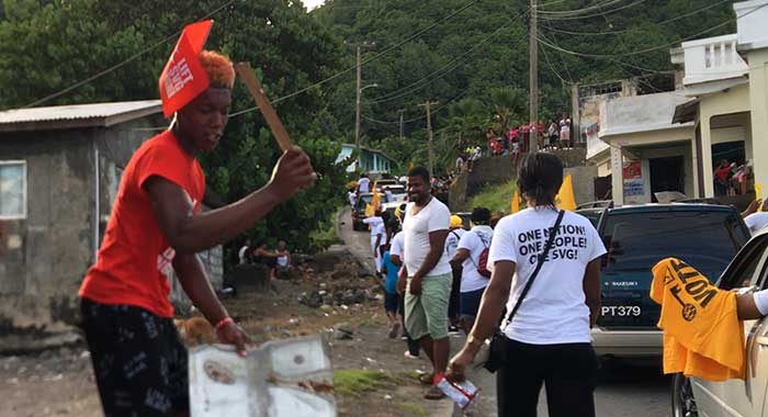 Ulp Ndp Supporters