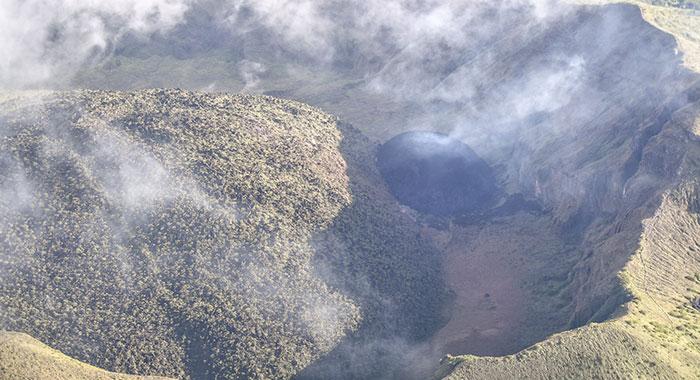 La Soufriere Dome