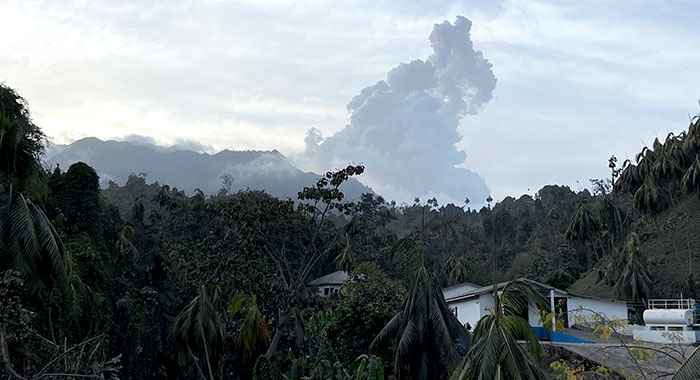 La Soufriere From Congo Valley