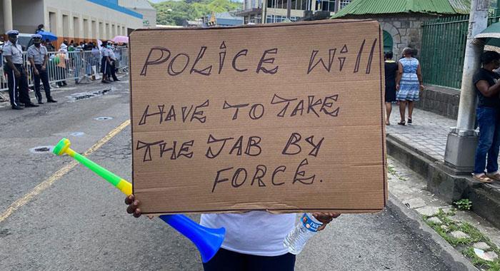 Protester 8